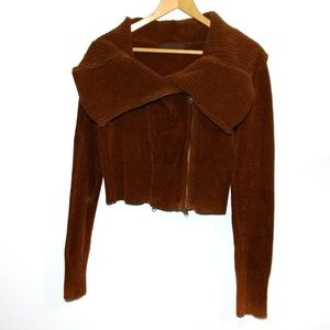 Nicholas K Double Zipper Sweater